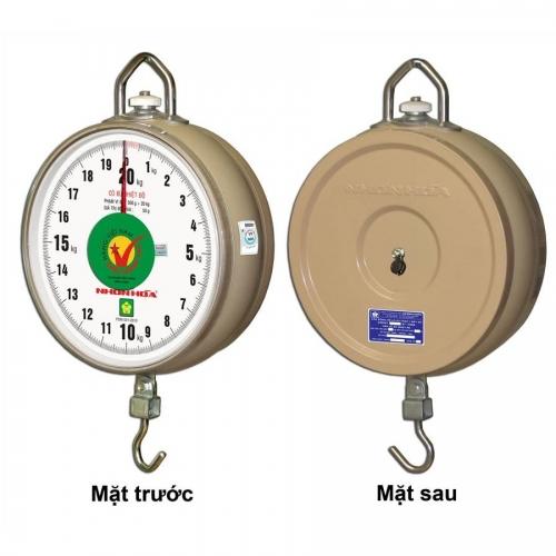 """Cân Treo Nhơn Hòa 20kg - 1 mặt số CĐHT-20-8""""-1MS"""