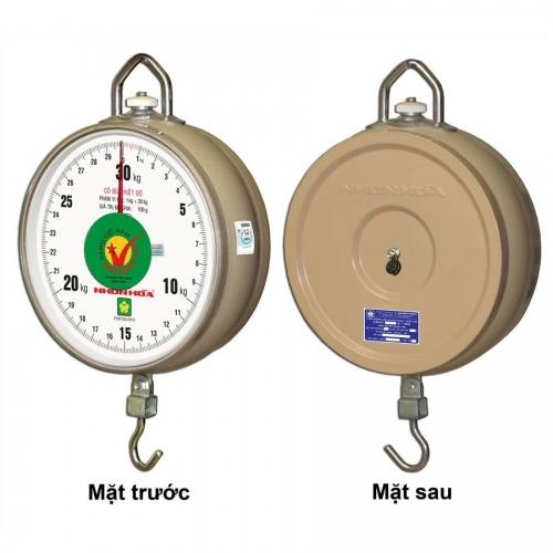 """Cân Treo Nhơn Hòa 30kg - 1 mặt số CĐHT-30-8""""-1MS"""