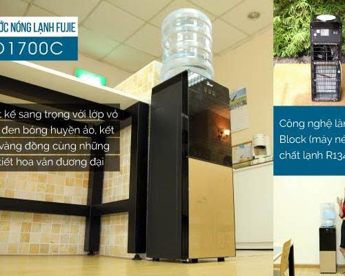 Cây nước nóng lạnh 2 vòi FUJIE WD1700C-2