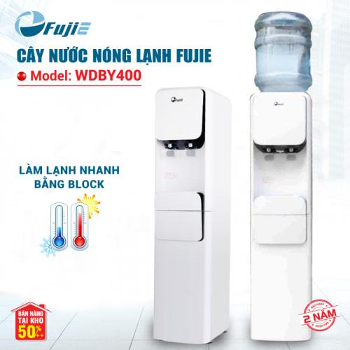 Cây nước nóng lạnh 2 vòi FUJIE WDBY400