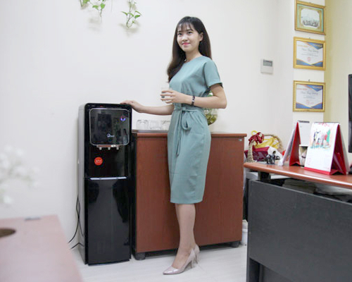 Cây nước nóng lạnh 3 vòi FujiE WD5000C-3