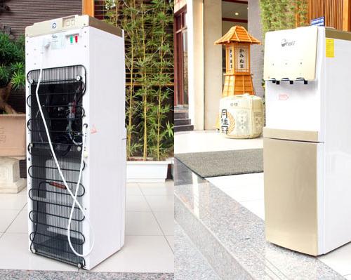 Cây nước nóng lạnh 3 vòi FUJIE WDBD20C-1