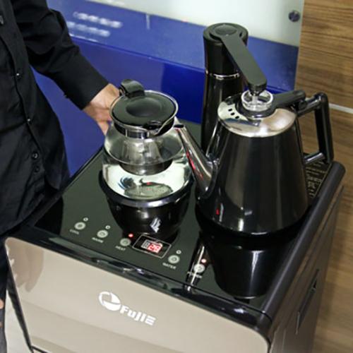 Cây nước nóng lạnh kết hợp bàn pha trà, cafe FujiE WD1170C-2