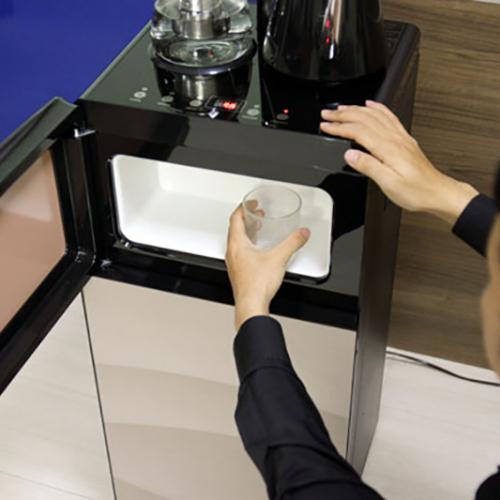 Cây nước nóng lạnh kết hợp bàn pha trà, cafe FujiE WD1170E-3