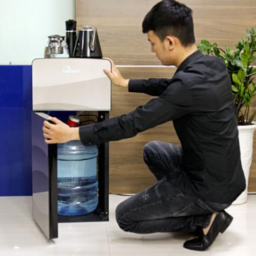 Cây nước nóng lạnh kết hợp bàn pha trà, cafe FujiE WD1170E-5