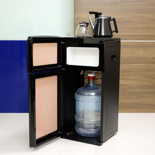 Cây nước nóng lạnh kết hợp bàn pha trà, cafe FujiE WD1170E-1