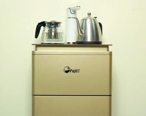 Cây nước nóng lạnh kết hợp bàn pha trà, cafe FujiE WD3000E-4