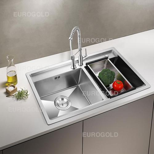 Chậu rửa bát inox 304 Eurogold EUP28248