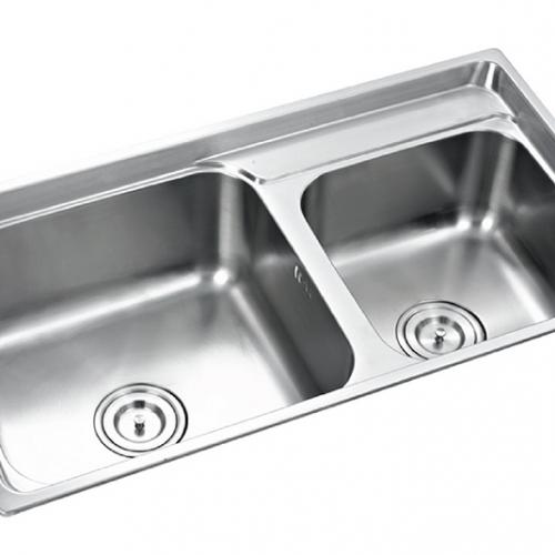 Chậu rửa bát inox 304 KAFF KF-M8245GHR-2
