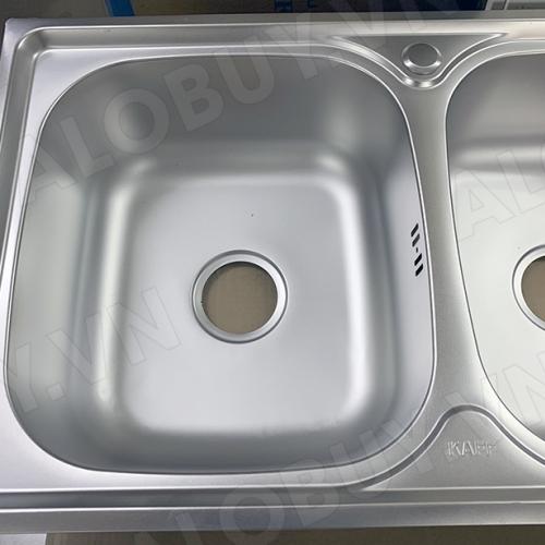 Chậu rửa bát inox 304 KAFF KF-P10046-3