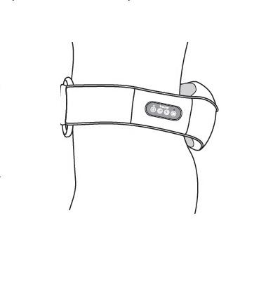 Đai massage lưng, vai, cổ Beurer MG148-6