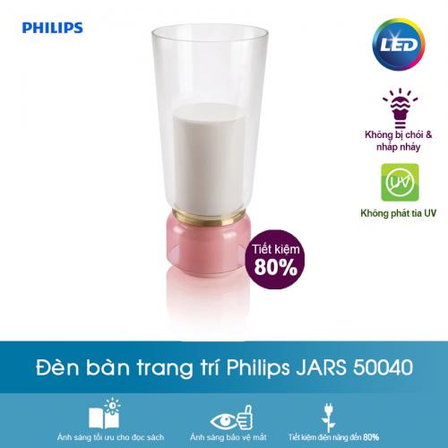 Đèn bàn trang trí Philips Jars 50040 (Hồng)-2