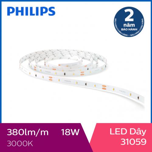 Đèn LED dây Philips 5m 18W DLI 31059 3000K - Ánh sáng vàng-4