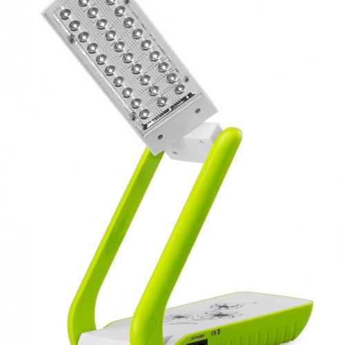 Đèn sạc Tiross TS52 tích hợp 30 bóng đèn LED