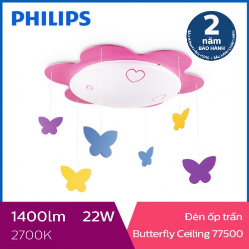 Đèn trần phòng trẻ em Philips LED Butterfly 77500 22W-1