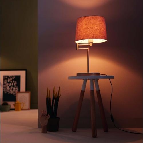 Đèn trang trí để bàn Philips Donne 36132 tặng 01 bóng đèn Philips LED Scene Switch 2 cấp độ ánh sáng vàng-4