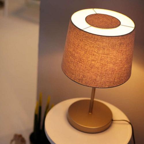Đèn trang trí để bàn Philips Donne 36132 tặng 01 bóng đèn Philips LED Scene Switch 2 cấp độ ánh sáng vàng-5