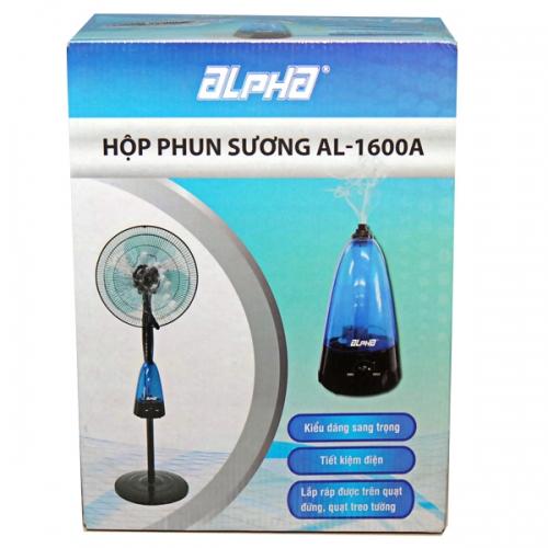 Hộp phun sương Alpha AL-1600A ( Gắn vào quạt )