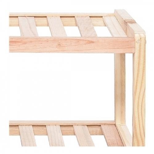 Kệ để giày khung gỗ đa năng 3 tầng Goldhouse GH11-1