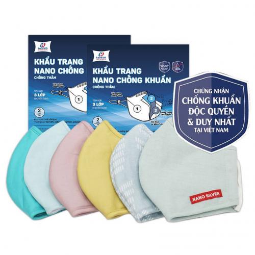 Khẩu trang kháng khuẩn NANO bạc HANVICO (Bộ 2 chiếc)-6
