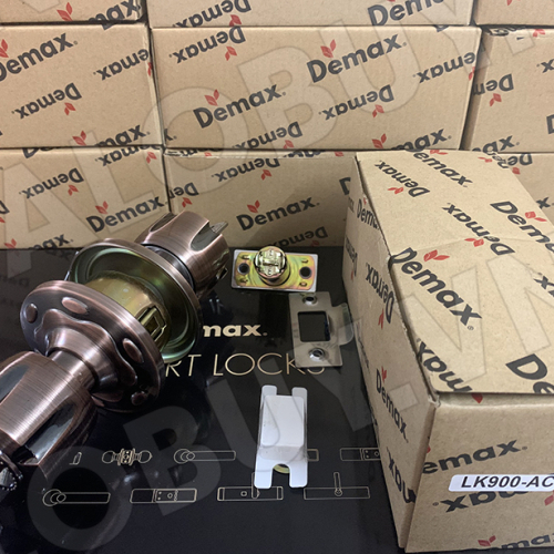 Khóa cửa tay nắm tròn Demax LK900 AC-1