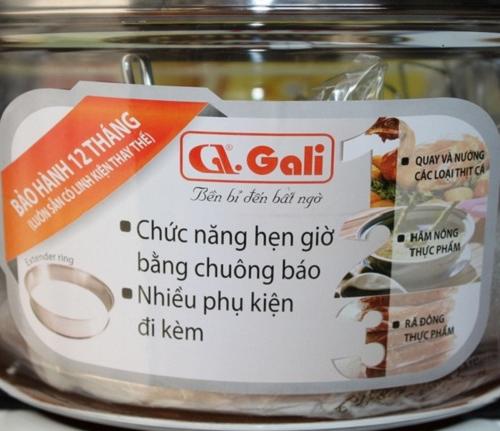 Lò nướng thủy tinh Gali GL-1117-3