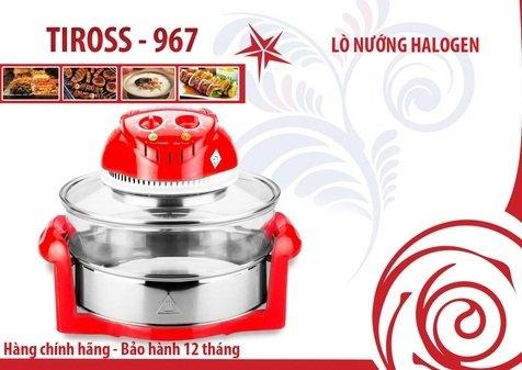 Lò nướng thủy tinh Tiross TS967 - Đỏ-5
