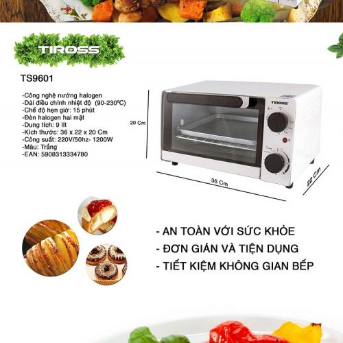 Lò nướng TIROSS TS-9601-1