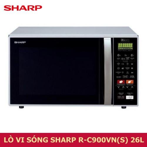 Lò vi sóng nướng đối lưu Sharp R-C900VN(S) 26L