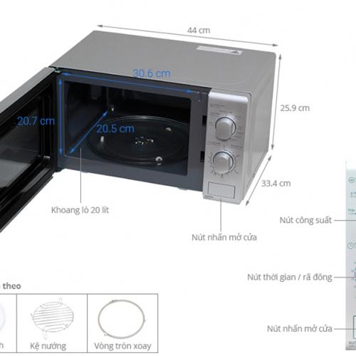 Lò vi sóng Sharp R-G226VN-S-5