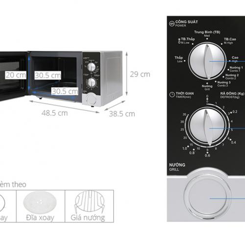 Lò vi sóng Sharp R-G302VN-S-5