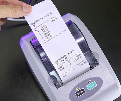 Máy đếm tiền phát hiện tiền siêu giả Silicon MC-7PLUS COMBO-1