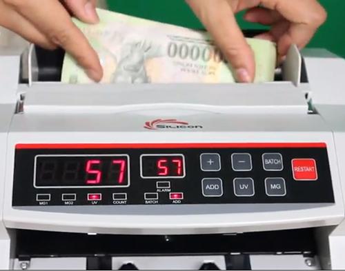 Máy đếm tiền Silicon MC-2200-1