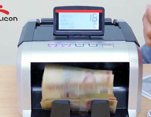 Máy đếm tiền Silicon MC-2550-5