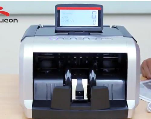 Máy đếm tiền Silicon MC-2550-4