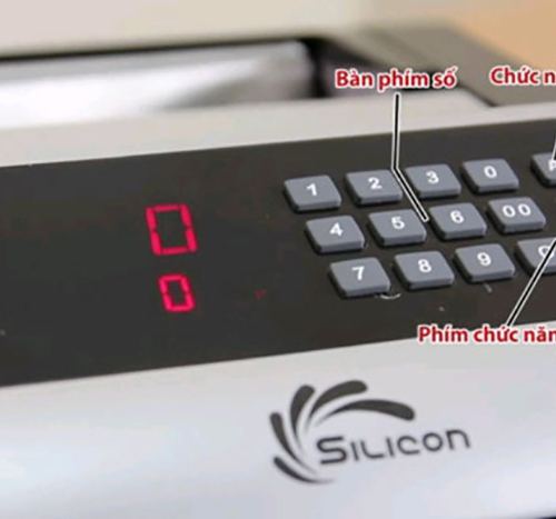 Máy đếm tiền Silicon MC-3600-1