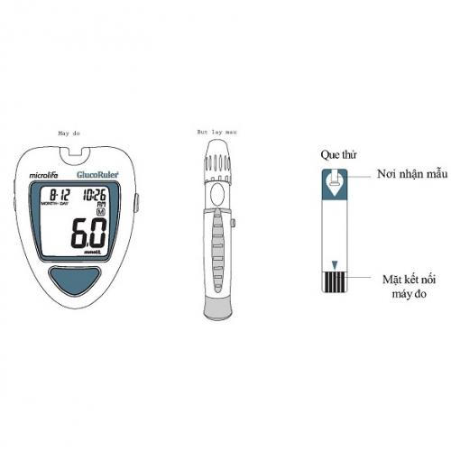 Máy đo đường huyết Microlife MGR100-2