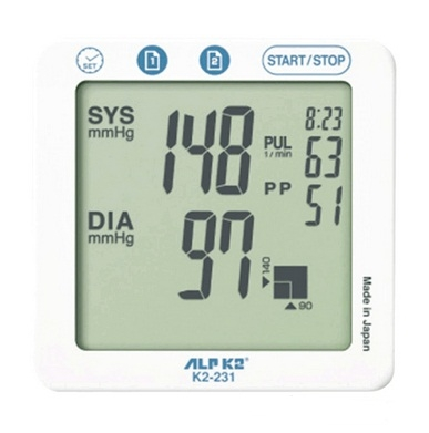 Máy đo huyết áp bắp tay ALPK2 K2 231-1