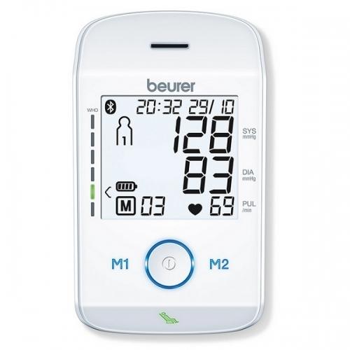 Máy đo huyết áp bắp tay Bluetooth Beurer BM85-3