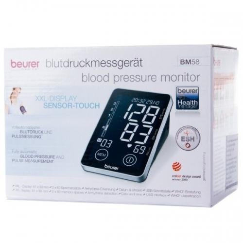 Máy đo huyết áp bắp tay cảm ứng Beurer BM58-2