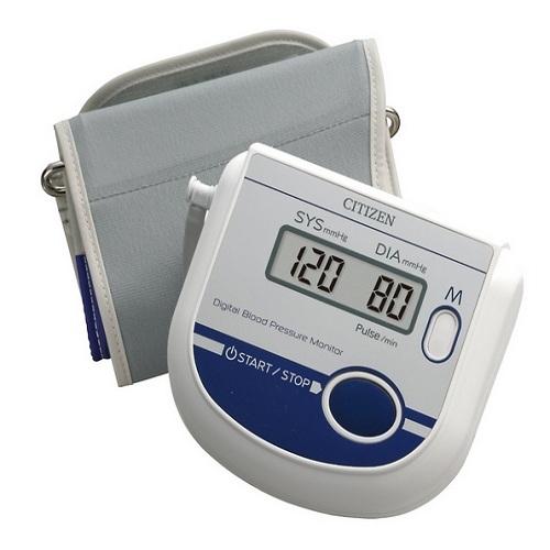 Máy đo huyết áp bắp tay Citizen CH-452 AC-2