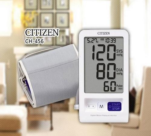 Máy đo huyết áp bắp tay Citizen CH-456-1
