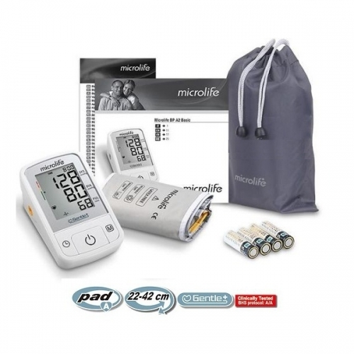 Máy đo huyết áp bắp tay Microlife BP A2 Basic-4