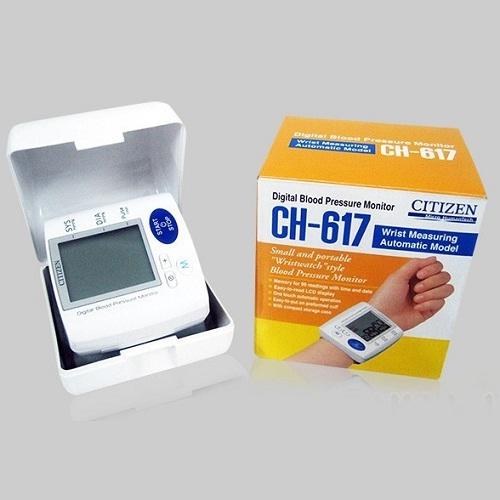 Máy đo huyết áp cổ tay Citizen CH-617-4