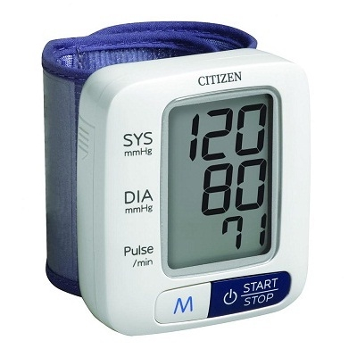 Máy đo huyết áp cổ tay Citizen CH-650-3