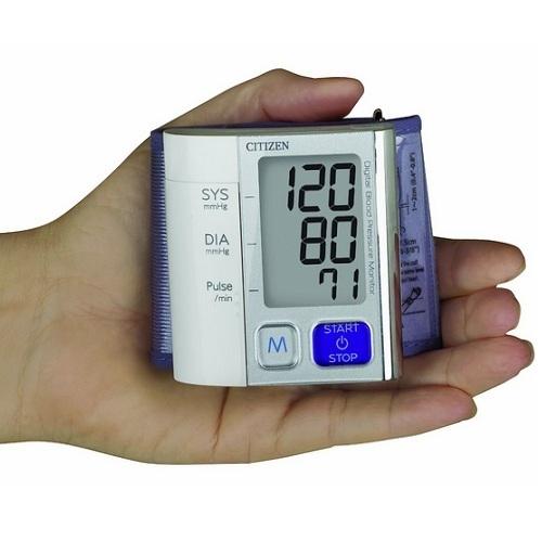 Máy đo huyết áp cổ tay Citizen CH-657-3
