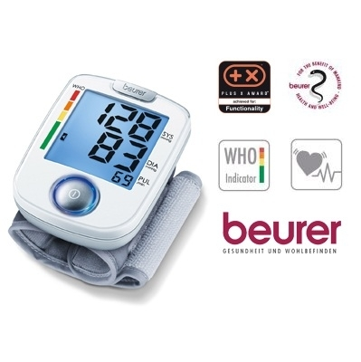 Máy đo huyết áp điện tử cổ tay Beurer BC44-3