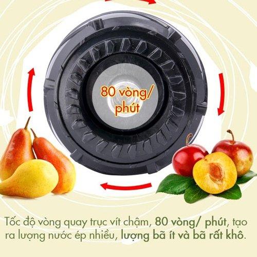 Máy ép trái cây tốc độ chậm Magic A91-4