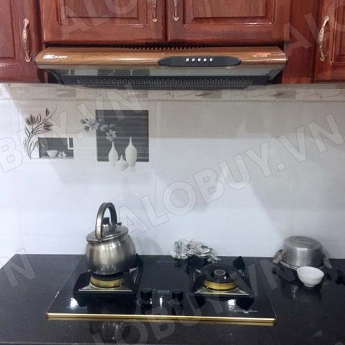 Máy hút mùi bếp 7 tấc KAFF KF-700W (Vân Gỗ)-3