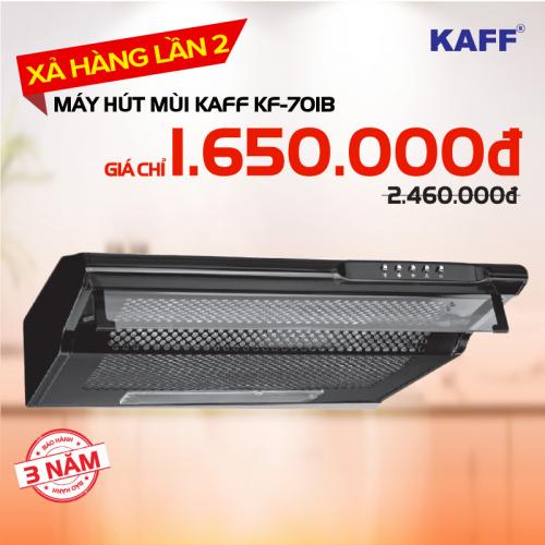 Máy hút mùi bếp 7 tấc KAFF KF-701B / 8710B